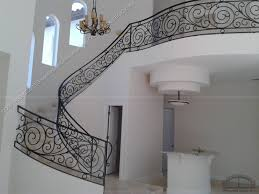 Wrought Iron Banister Model Staircase 39 Unusual Wrought Iron Staircase Railing Image