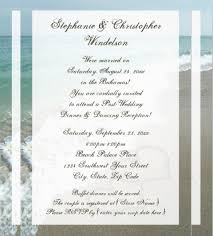 Wedding Invitations Sayings 24 Beach Wedding Invitation Templates U2013 Free Sample Example