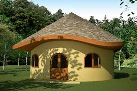 Wood House Plans by Roundhouse Plan Earthbag House Plans
