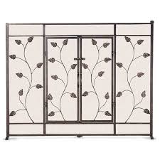 bronze fireplace screen binhminh decoration