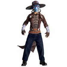 star wars the clone wars child deluxe costume and mask cad bane