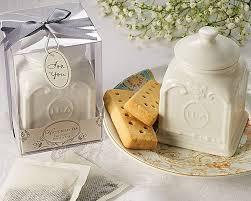 tea favors tea porcelain tea caddy wedding favors