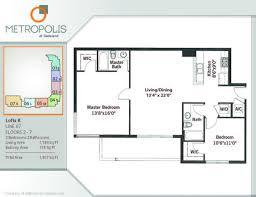 metropolis miami floor plans