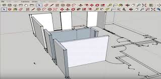 tutorial sketchup autocad how to import and model an autocad floor plan in sketchup