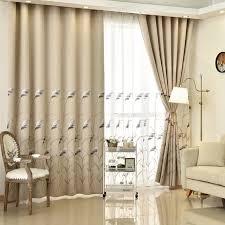 rideau de chambre moderne de luxe brodé haute ombrage rideaux salon décoration fenêtre