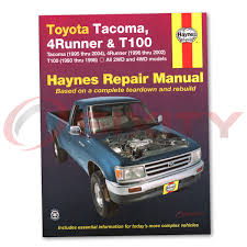 96 toyota tacoma repair manual on 96 images tractor service and