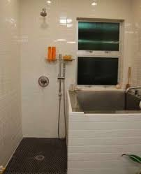 Small Bathrooms With Tubs Japanese Soaking Tub Ofuro Tub Square With A Built In Seat