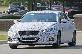 Spyshots 2019 Nissan Altima Shows Interior Model Targets The