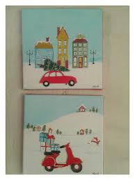 pin by irene and nicki crafts on christmas canvas art pinterest