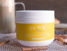 vital proteins collagen gingerbread latte wholesomelicious