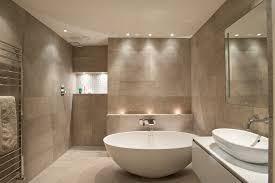 Recessed Bathroom Lighting Ledge Lighting Bathroom Contemporary With Heated Towel Rack Shower