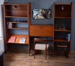 60s Style Furniture 60s 70s Mid Century Retro Vintage Teak Ladderax Style Shelving