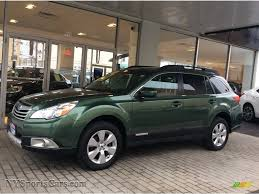 green subaru 2012 subaru outback 2 5i limited in cypress green pearl 264495