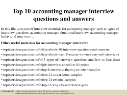 free resume templates for accounting manager interview question top 10 accounting manager interview questions and answers 1 638 jpg cb 1427514562