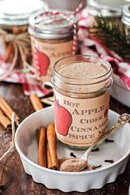 food christmas gifts hot apple cider cinnamon spice mix free printable savory nothings