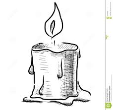 christmas candle coloring pages free