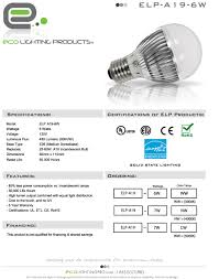 Elp Lighting Eco Lighting Products