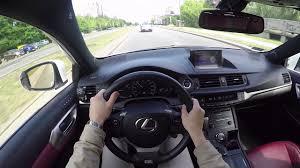 lexus hatchback horsepower lexus ct200h u002715 1 8 136 hp pov test drive auto start youtube