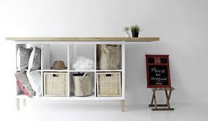 Hacker Table 35 Diy Ikea Kallax Shelves Hacks You Could Try Shelterness