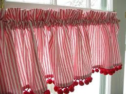 White Curtains With Pom Poms Decorating Pin By Nikiros On Whit And Pinterest Curtain Ideas Cabin