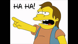 Haha Simpsons Meme - nelson muntz ha ha youtube