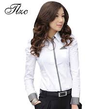 s blouse tlzc shirt fashion office white shirt 2017