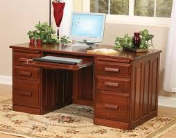 Home Office Desks Wood Fabulous All Wood Computer Desk Flat Top Home Office Desk