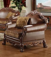 sofa dresden 3975 79 dresden 3 pc leather and chenille sofa set sofa sets af