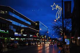 shooting star christmas lights new westminster will see shooting stars this christmas