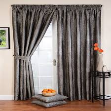 Debenhams Curtains Ready Made Whiteheads Ripple Silver Lined Pencil Pleat Curtains Debenhams