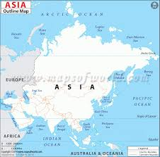 physical map of asia blank outline map of asia outlines and asia