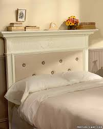 bed headboards diy 11 diy headboard ideas to give your bed a boost martha stewart