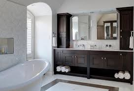 Contemporary Bathroom Suites - elegant master bath suite by drury design