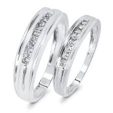 wedding bands sets his and matching wedding rings trio wedding ring sets walmart matching wedding