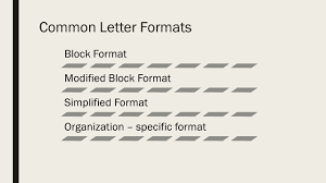 Modified Block Letter Style by Business Letters And Memos Recipients Lettersmemos S External