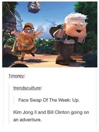 Kim Jong Il Meme - 1morey trendsculture face swap of the week up kim jong il and bill