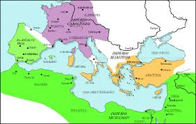 West Europe Map The Crucial Seventh Century In The Shaping Of Medieval Western