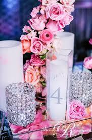 Wedding Reception Table Bling Wedding Centerpiece Ideas Rhinestone Wedding Reception