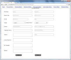 Simple Resume Builder Simple Resume Builder Project In Java Techzoo Technology Blog