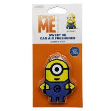 candy pop sweet 3d stuart minions car air freshener minion shop