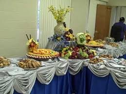 fruit table display ideas fruit display with melon carving wedding my wedding to the