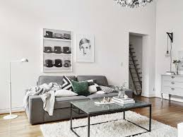 Marble Living Room Table Living Room Wonderful Scandinavian Living Room Design With White