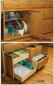 Organising Kitchen Cabinets by Best 25 Cabinet Organizers Ideas On Pinterest Plastic Storage