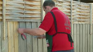 how to install bamboo screnning bunnings warehouse