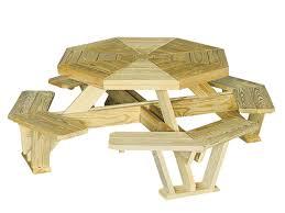 Hexagon Picnic Table 50