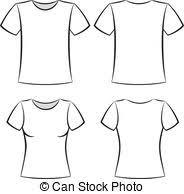 t shirt template white t shirt blank template vector vector