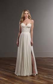 wedding corset lace corset chiffon wedding separates martina liana