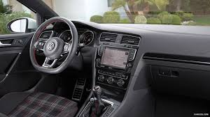 Gti Interior Volkswagen Golf Gti Vii 2015 Interior Hd Wallpaper 10
