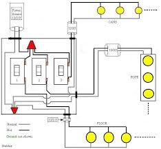 how to wire three switches on one circuit electrical diy
