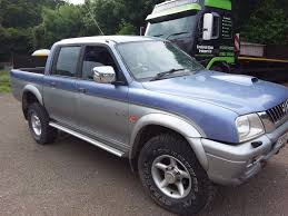 mitsubishi l200 4wd asm uk motors ltd